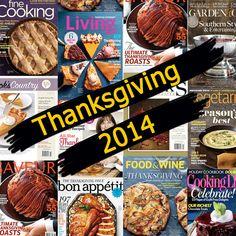 2014 Thanksgiving Recipes