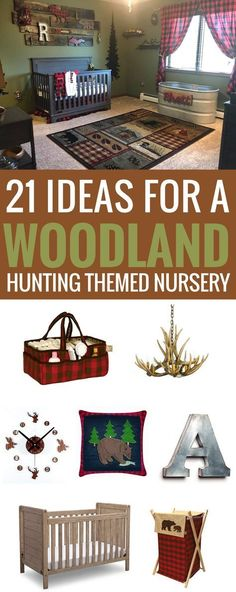 21 Ideas for A Woodland Hunting Themed Nurserywoodland forest nursery Woodland Hunting Themed Nursery, lumberjack, buffalo check plaid HuntingLumberjack Nursery Ideas - Buffalo Plaid Baby Room - A More Crafty LifeLumberjack Nursery Ideas - Buffalo Hunting Nursery, Woodland Nursery Boy, Forest Nursery, Baby Boy Nursery Themes, Woodland Baby, Baby Boy Rooms, Baby Boy Nurseries, Woodland Forest, Nursery Ideas