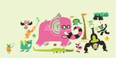Tim Bradford is an illustrator, specialising in character design and illustrated typography