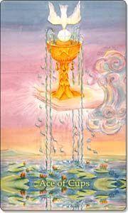 Aquatic Tarot: Ace of Cups Divine Tarot, Love Tarot Reading, Steampunk, Tarot Astrology, Free Tarot, Tarot Card Meanings, Card Book, Tarot Spreads, Oracle Cards