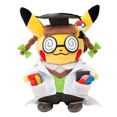 Pokemon Center Original Plush Doll : Dr. Pikachu OA