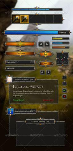 RPG User Interface