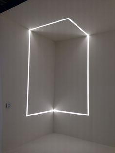 Flos Displays Their Running Magnet light Installation