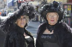 Left, Whitby Goth Weekend, 27th April 2012 by petelovespurple, via Flickr