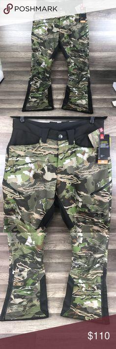 79816cb966e34 Under Armour Fleece Hunting Pants Forest Camo NWT Under Armour Men's 32/32  Stealth Fleece