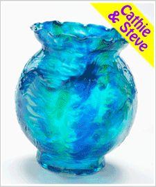 Glass Painting - Old World Vase