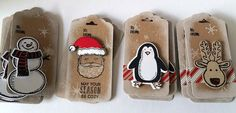 The Stamping Shed: Box of Christmas tags.....