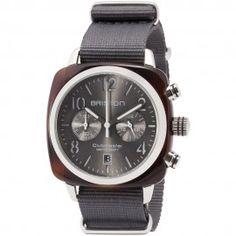 Clubmaster Classic Acétate - Chronographe écaille de tortue cadran gris soleillé