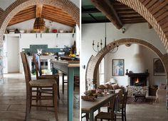 Tuscan farm home