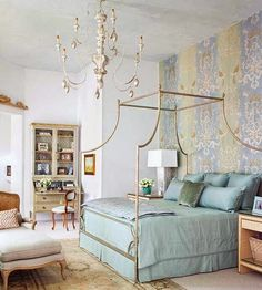 South Shore Decorating Blog: Astounding Room Beauty - i love the bedding's colour