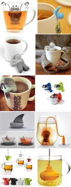 Tea infusers. #cutething #cooltea