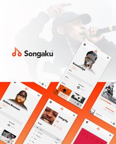"Check out this @Behance project: ""Songaku"" https://www.behance.net/gallery/51202705/Songaku"