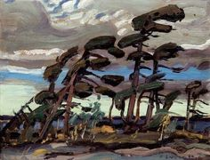 Arthur Lismer, 'Pine Island, Georgian Bay' at Mayberry Fine Art 9 x 12 Group Of Seven Artists, Group Of Seven Paintings, Contemporary Landscape, Landscape Art, Landscape Paintings, Canadian Painters, Canadian Artists, Emily Carr Paintings, Tom Thomson Paintings