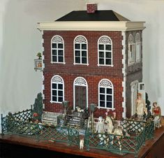 Gallery of Images. Dolls house around late 1800's.