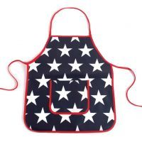 Penny Scallan Navy Star Apron  $24.95 Click to buy it now at http://www.mamadoo.com.au/kids-clothes/boys-clothes/boys-hats-and-accessories/ #mamadoo #boys #clothes #fashion #handsome #boyswillbeboys