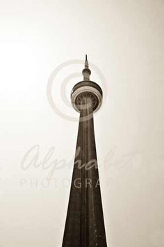 "This ""I"" is the CN Tower in Toronto and can be found at www.AlphabetPhotography.com. #alphabetphotography #letterart"