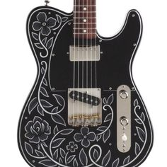 Creston Electric - Damn I want one of these! All hand built in Vermont and painted by a local artist. These are made to order and he does lefty. Not expensive either, in the $2k-$3k range. http://crestonguitars.com/