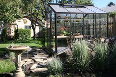 "Legacy Greenhouse 8'x8', 12"" planter + 12"" in pillars, $2395"