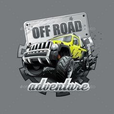 Buy Extreme Yellow Off Road Vehicle SUV by balanslava on GraphicRiver. Extreme yellow Off Road Vehicle SUV. Tire Vector, Jeep Images, Jeep Humor, Vespa Bike, Car Drawings, 4x4 Trucks, Land Rover Defender, Automotive Design, Cars And Motorcycles