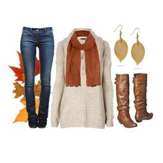Leaves are Falling, created by qtpiekelso on Polyvore