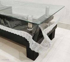 Table Cover Classy PVC Transparent Center Table Cover  *Material* PVC  *Sioze(LXW)* 40 in X 60 in  *Description* It Has 1 Piece Of Transparent Center Table Cover  *Work* Lace Border  *Sizes Available* Free Size *   Catalog Rating: ★4.1 (785)  Catalog Name: Classy PVC Transparent Center Table Covers Vol CatalogID_112797 C129-SC1637 Code: 681-954455-