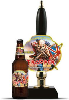 Iron Maiden, The Trooper beer.