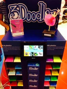 Now at Virgin in the Mall of Emirates Dubai - a broad selection of #3Doodler sticks!