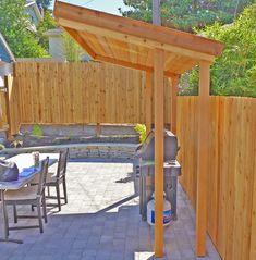 Pergola For Small Backyard Barbecue Gazebo, Grill Gazebo, Patio Grill, Backyard Patio, Backyard Landscaping, Outdoor Grill Area, Outdoor Grill Station, Diy Bbq Area, Diy Pergola