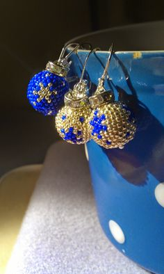 Christmas earrings with schema