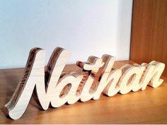 Prénom en bois NATHAN