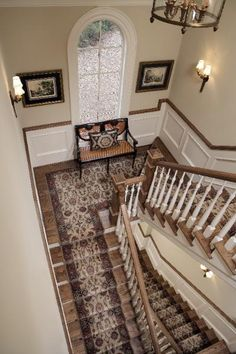 Offering a complete selection of area rugs and runners in San Diego, CA. Handmade Oriental carpet, Tibetan rugs, Karastan rugs, and power-loomed rugs. Hall Carpet, Carpet Stairs, Rugs On Carpet, Carpets, Carpet Decor, Staircase Runner, Stair Runners, Rug Runners, Stairs