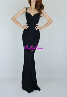 Long tight black