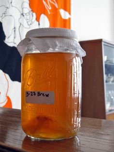 How to Brew your own Kombucha. Someday I'm going to try this! I love Kombucha.