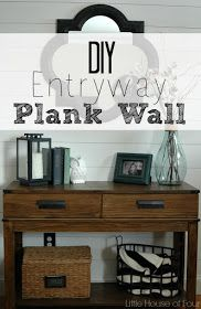 Excellent Plank Wall Tutorial