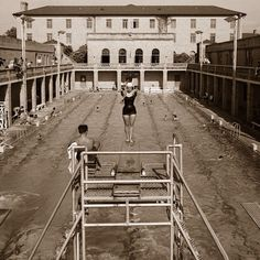 The Huey P. Long Fieldhouse Pool in its prime.  This is where I learned to swin (when I was 9 years old) LSU Fieldhouse Pool
