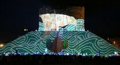 Triquetra - Illuminating York 2013 - Clifford's Tower