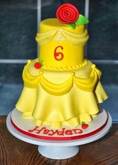 belle princess cake - Google Search