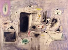 Arshile Gorky | The Beginning. 1947. Oil on canvas.