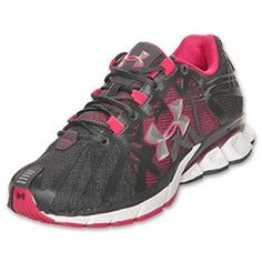 07bd7afd78b0fb Under Armour Reliance Womens Running Shoes Charcoal Elderberry Pink .