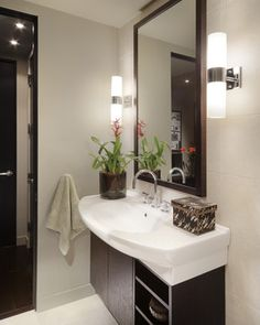 Carson Poetzl Inc Contemporary Bathroom Great Lights Mirror