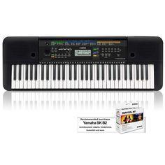 Yamaha PSRE253 61-Key Portable Keyboard Keyboard Only