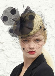 Benoit Missolin SS14 Collection (Paris) Fascinator Hats, Fascinators, Headpieces, Paris Wedding, Kentucky Derby Hats, Veils, Headdress, Whimsical, Calm