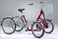 electric 4 wheel bike-4 Wheel Electric Bikes