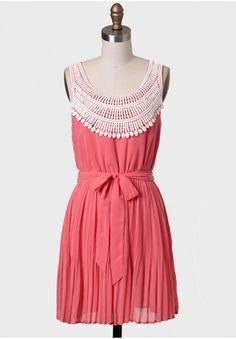 Bentham Crochet Detail Dress | Modern Vintage Dresses | Modern Vintage Clothing