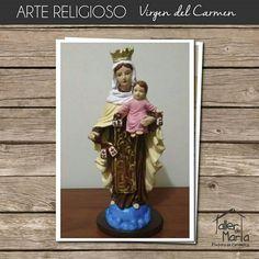 En el Taller de Marta queremos que vivas con mucha fe esta bella advocación de la  Virgen del Carmen.Contáctenos al 310 837 0969 y realiza tu pedido.