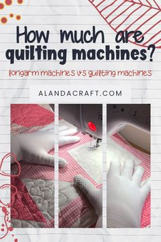 Ready to get yourself a quilting machine? Read this guide to find out how much long arm machines are compared to quilting sewing machines. Quilting Templates, Quilting Patterns, Quilting Tutorials, Quilting Designs, Sewing Tutorials, Sewing Patterns, Longarm Quilting, Free Motion Quilting, Brother Dream Machine