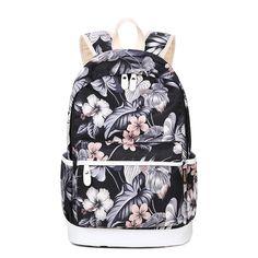 51.31$  Watch here  - Korean Style Fresh Backpack Bag For Girls Women Middle School Student Bag Multi-Function Leisure Laptop Bag Mochil+Free Gift