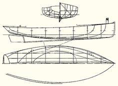 Gil Smith Catboats - Cupid