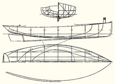 Gil Smith Catboat - Lucille | boat plans | Pinterest | Design, Love the and A small