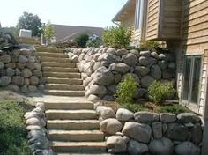 Image result for build natural retaining wall lake